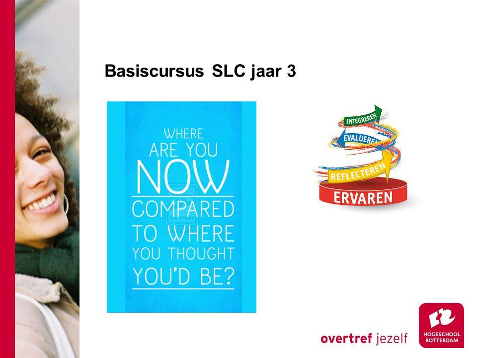 Basiscursus SLC jaar 3
