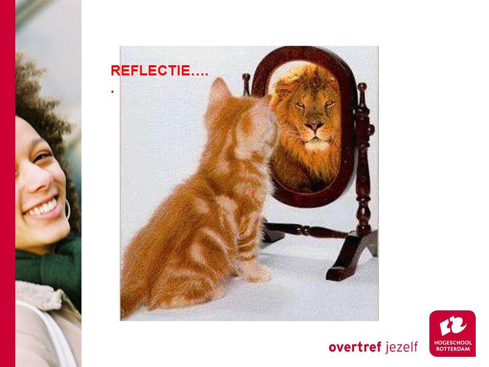 REFLECTIE…..
