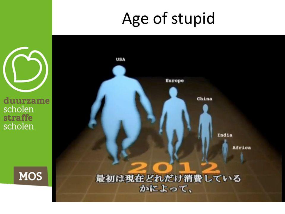 Age of stupid