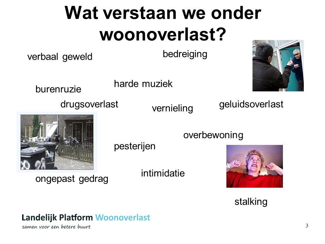 4 Het probleem 5% van de Nederlanders ervaart VAAK overlast 22% ervaart SOMS overlast Bron: Integrale veiligheidsmonitor 2009