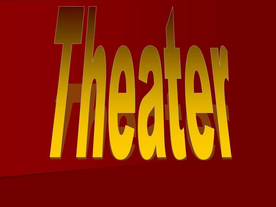 Inhoud Welke vormen zijn theater.Welke vormen zijn theater.