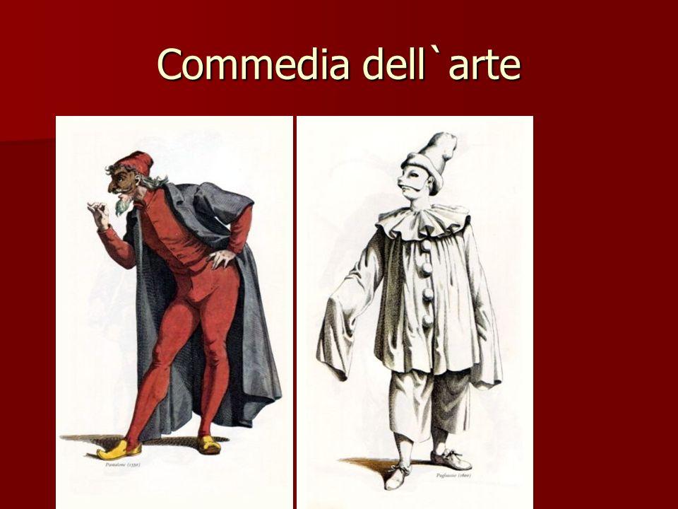 Commedia dell`arte