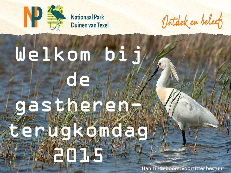 Welkom bij de gastheren- terugkomdag 2015 Han Lindeboom, voorzitter bestuur