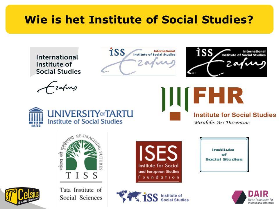 Wie is het Institute of Social Studies?