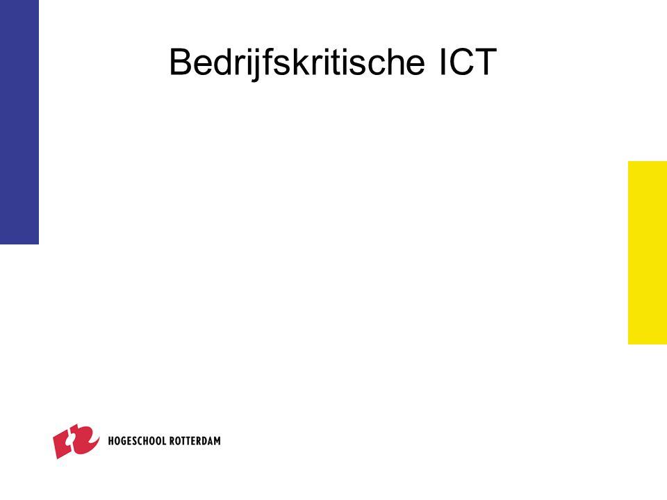 Bedrijfskritische ICT