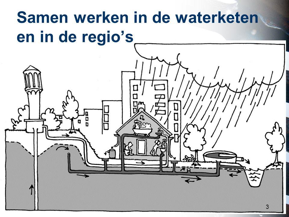 Samen werken in de waterketen en in de regio's 3
