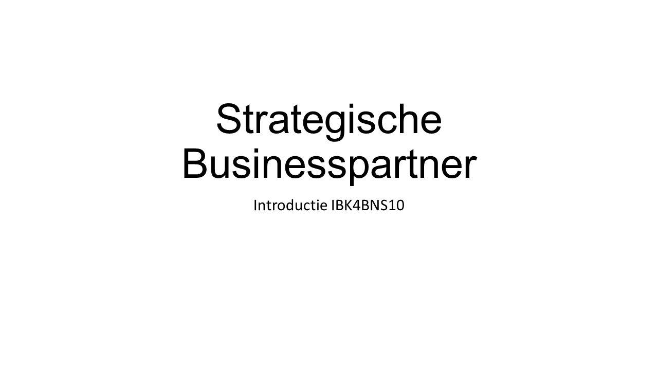 Strategische Businesspartner Introductie IBK4BNS10