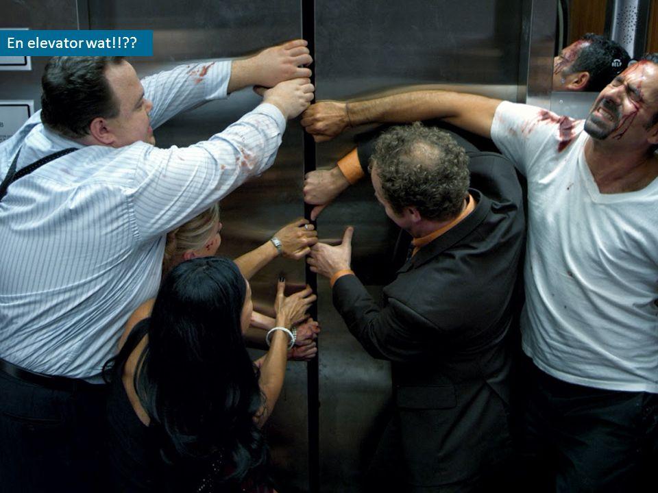En elevator wat!!??