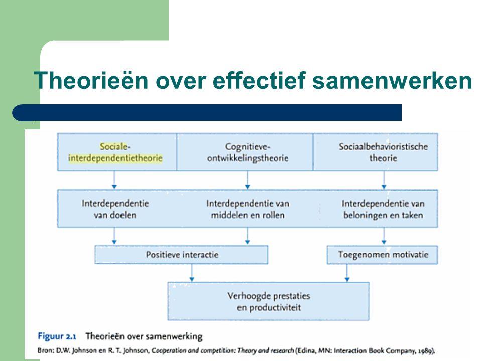 Theorieën over effectief samenwerken