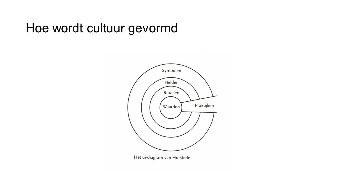 Hoe wordt cultuur gevormd