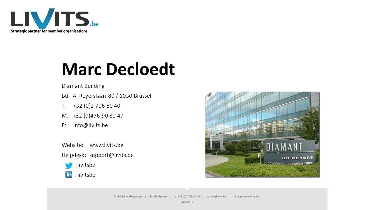 Marc Decloedt Diamant Building Bd.A.