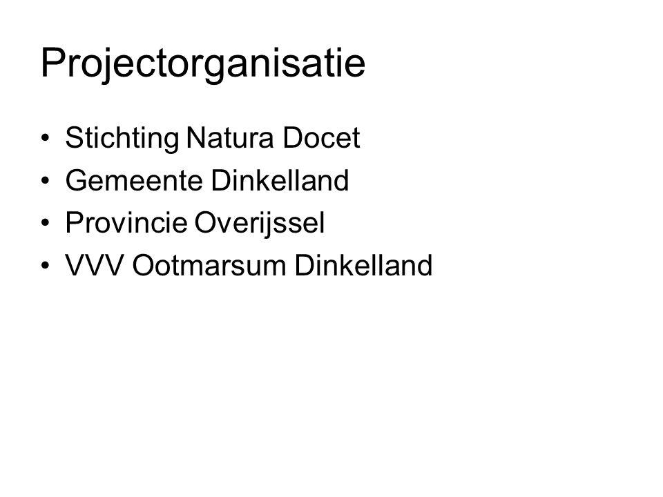 Projectorganisatie Stichting Natura Docet Gemeente Dinkelland Provincie Overijssel VVV Ootmarsum Dinkelland