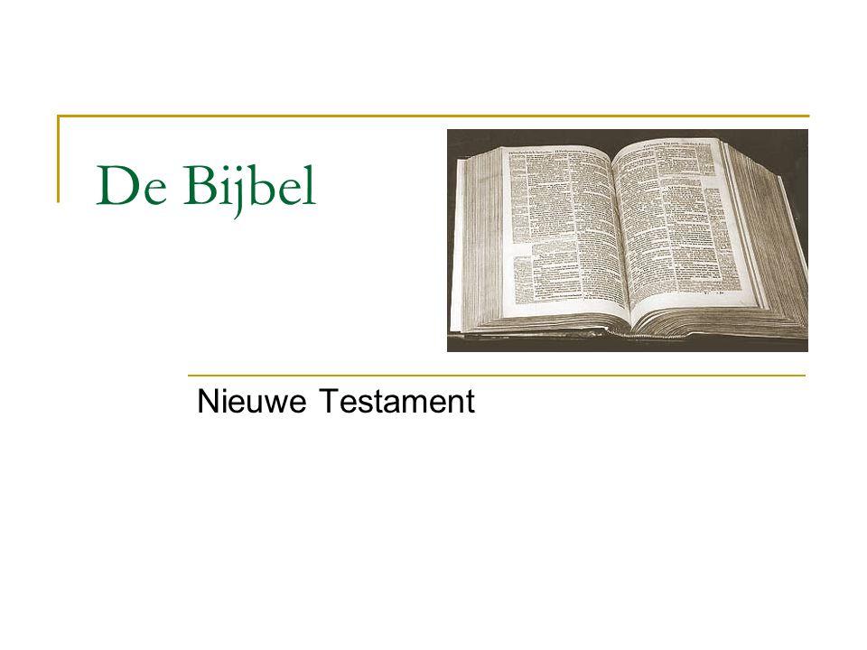 De Bijbel Nieuwe Testament
