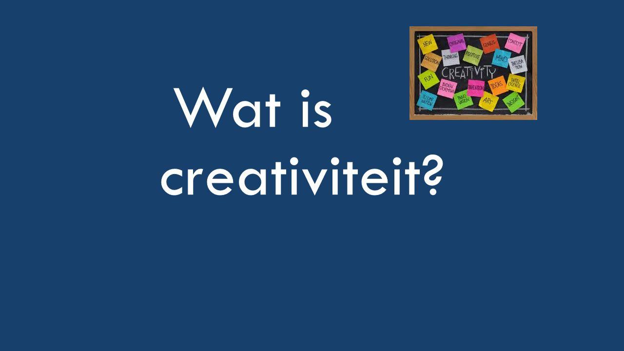 DO'S BIJ CREATIVITEIT Creatief waarnemen Flexibel associëren Kansdenken Doorzettingsvermogen Afstand nemen Risicobereidheid Verbeeldingskracht Sociale vaardigheden