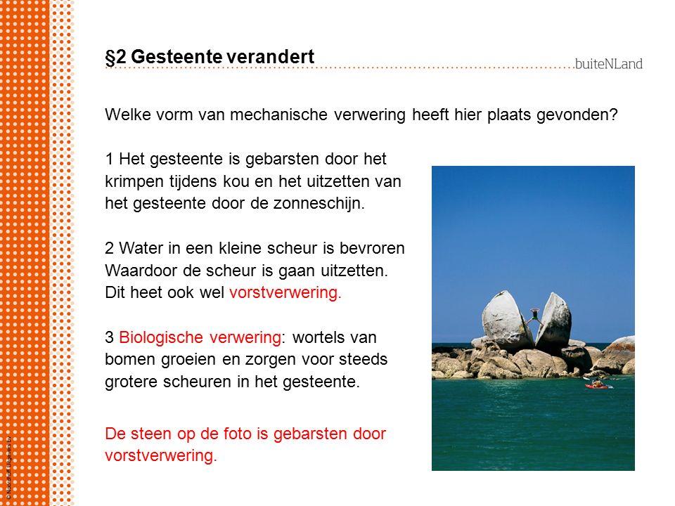 §3 Gesteente wordt verplaatst Hoe komt het dat gletsjers bewegen.
