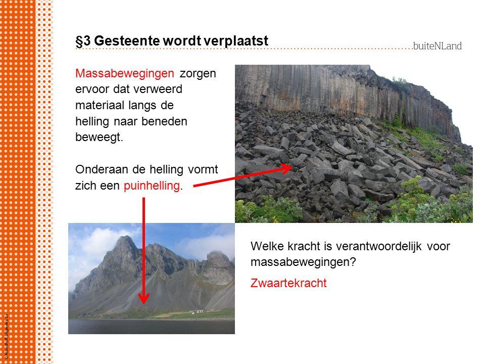 §5 Gebergten verslijten, gebergten ontstaan Hoe is het plooiingsgebergte de Alpen ontstaan.