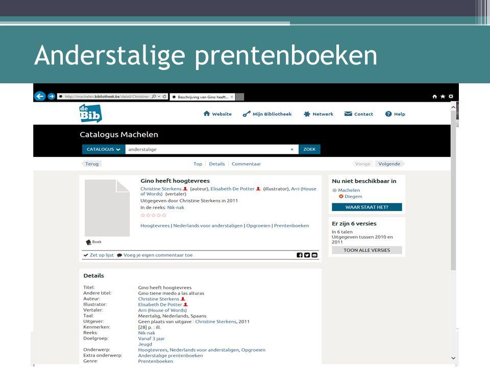 Anderstalige prentenboeken