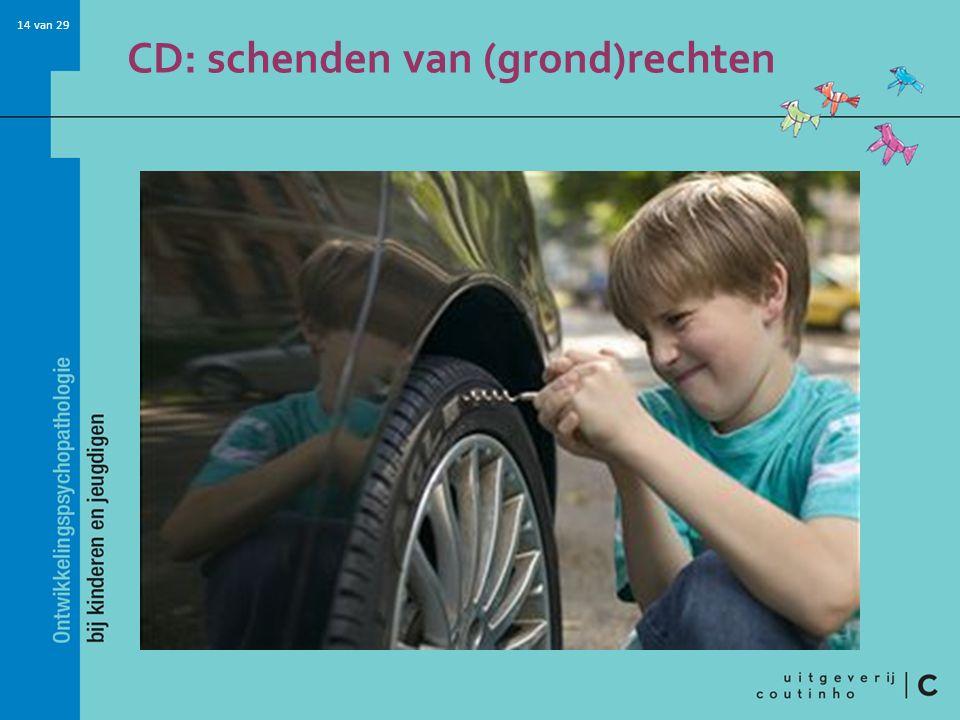 14 van 29 CD: schenden van (grond)rechten
