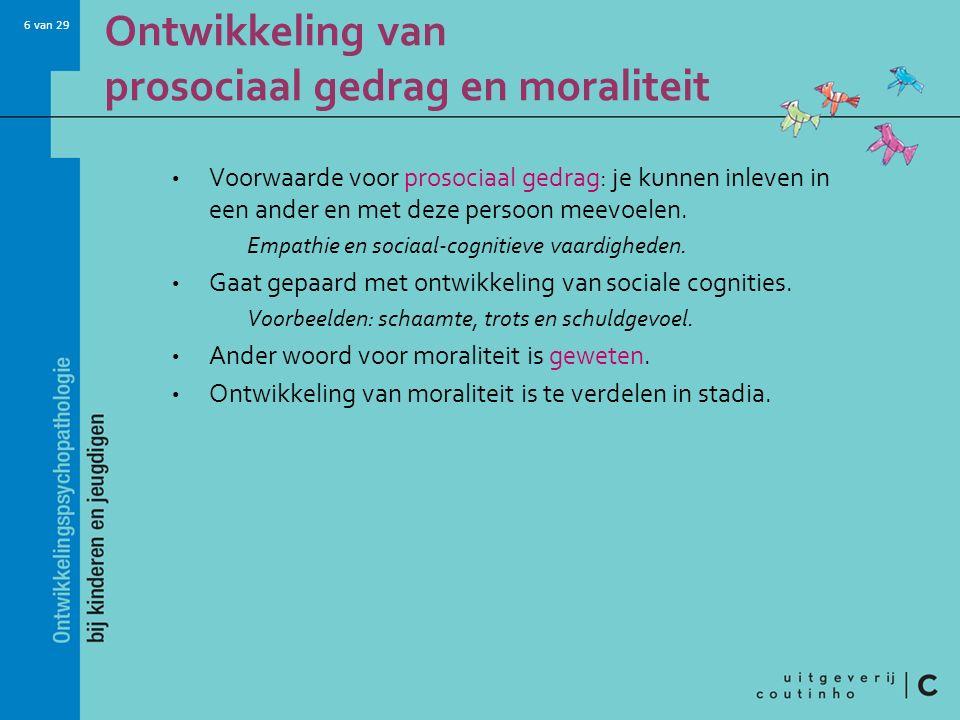 27 van 29 Effectieve hulpverlening bij gedragsstoornissen (3) Interventie op meerdere levensgebieden: Multisystemische therapie.