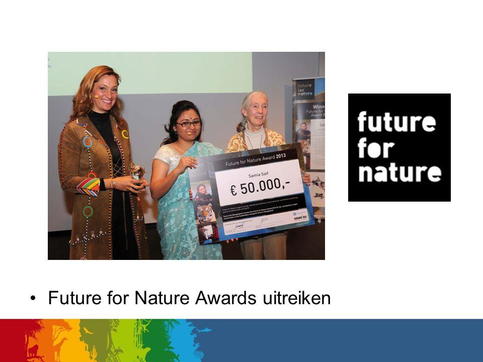 Future for Nature Awards uitreiken