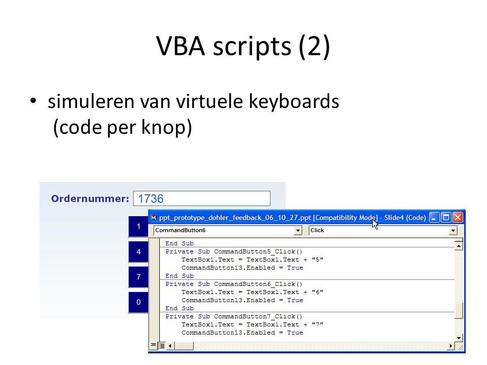 VBA scripts (2) simuleren van virtuele keyboards (code per knop) 23