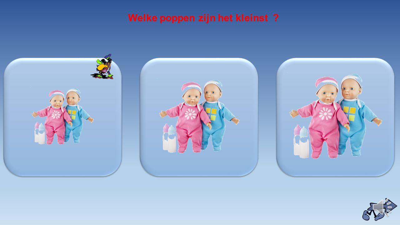 Welke poppen zijn het kleinst ?