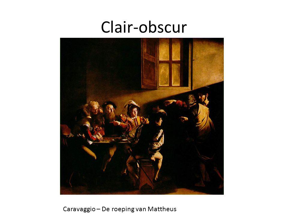 Clair-obscur Caravaggio – De roeping van Mattheus