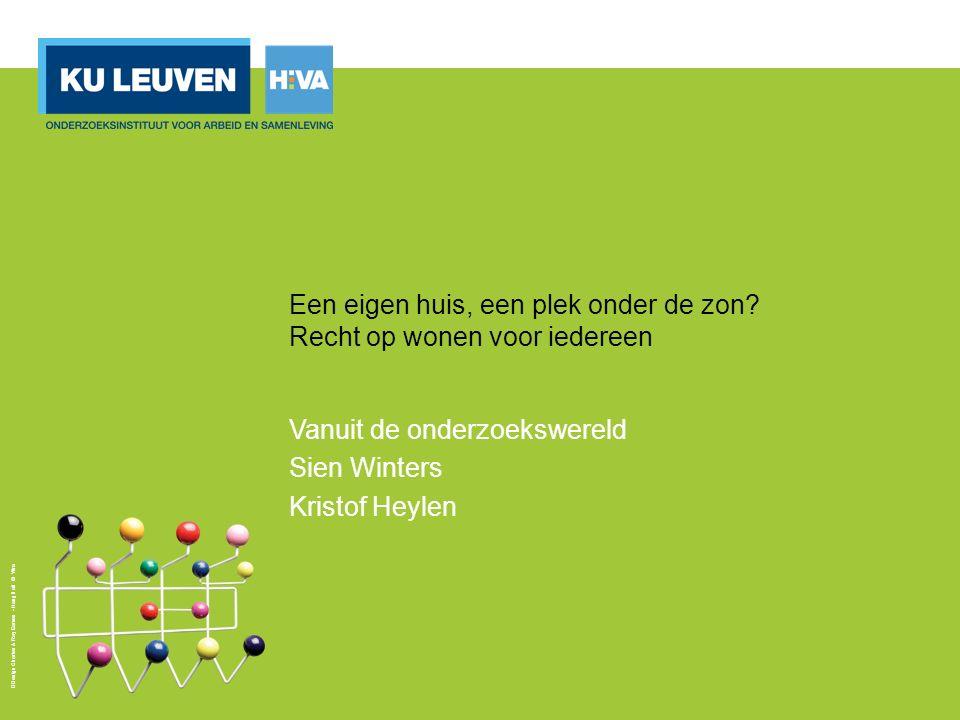 2 Vlaamse Wooncode: Art.3: « Iedereen heeft recht op wonen.