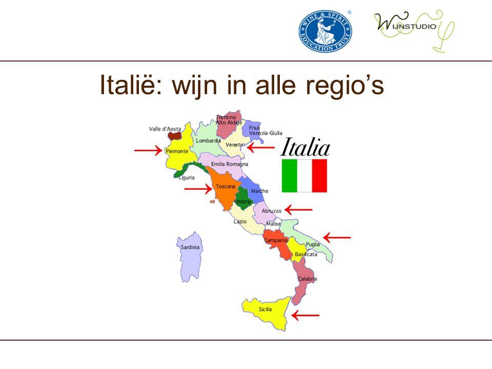 Italië: wijn in alle regio's → ← ← → ← ←