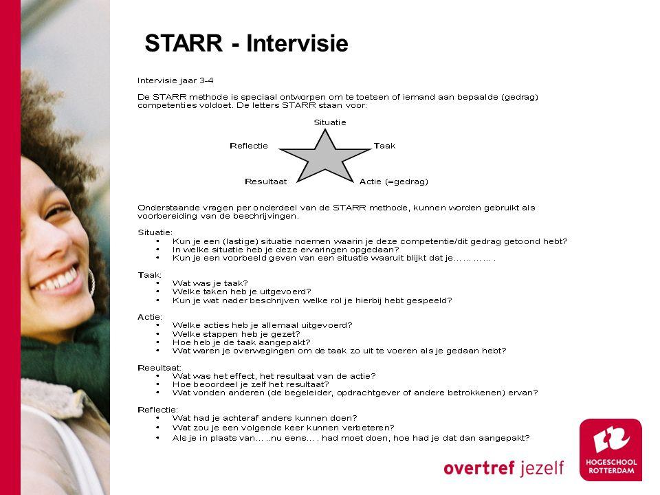 STARR - Intervisie