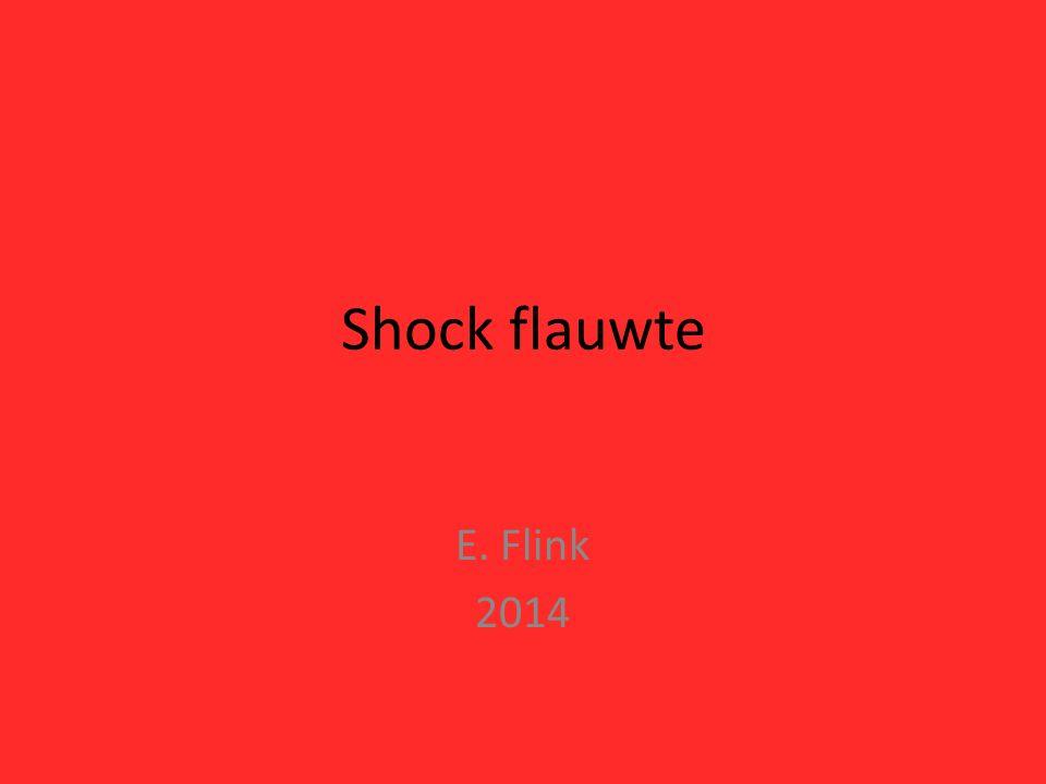 Shock flauwte E. Flink 2014