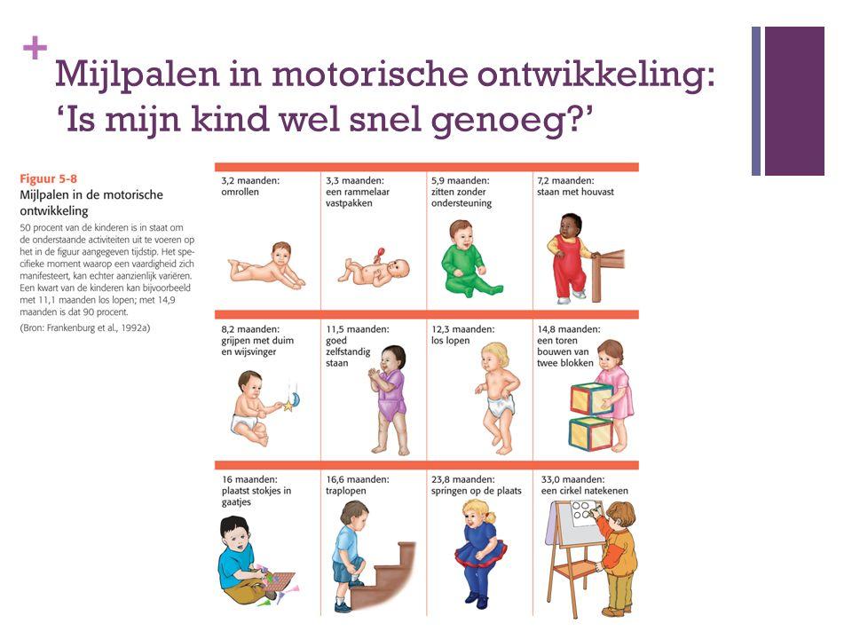 + Mijlpalen in motorische ontwikkeling: 'Is mijn kind wel snel genoeg?'