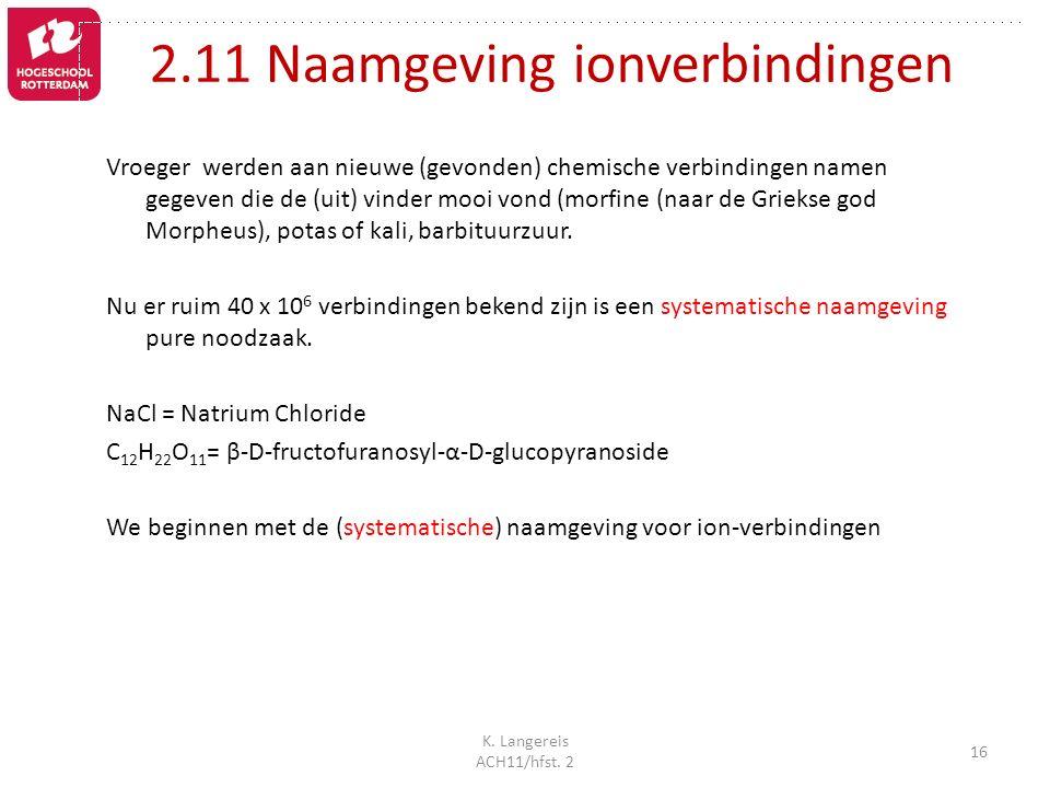 K.Langereis ACH11/hfst.