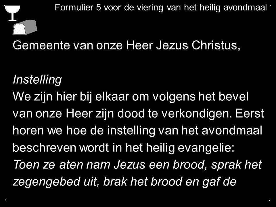 .... COLLECTE Volgende week Is de collecte voor de Kerk Na de collecte zingen we: LvdK 456: 1, 2