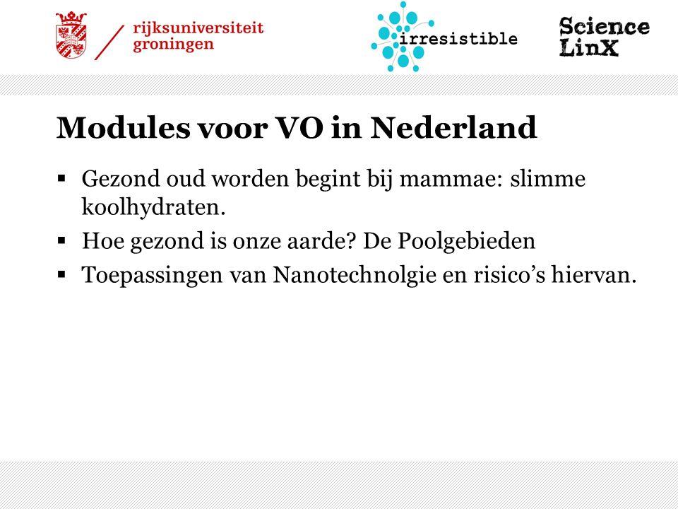 Modules voor VO in Nederland  Gezond oud worden begint bij mammae: slimme koolhydraten.