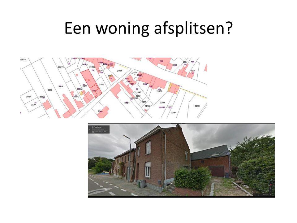 Een bijkomende woning creëren?