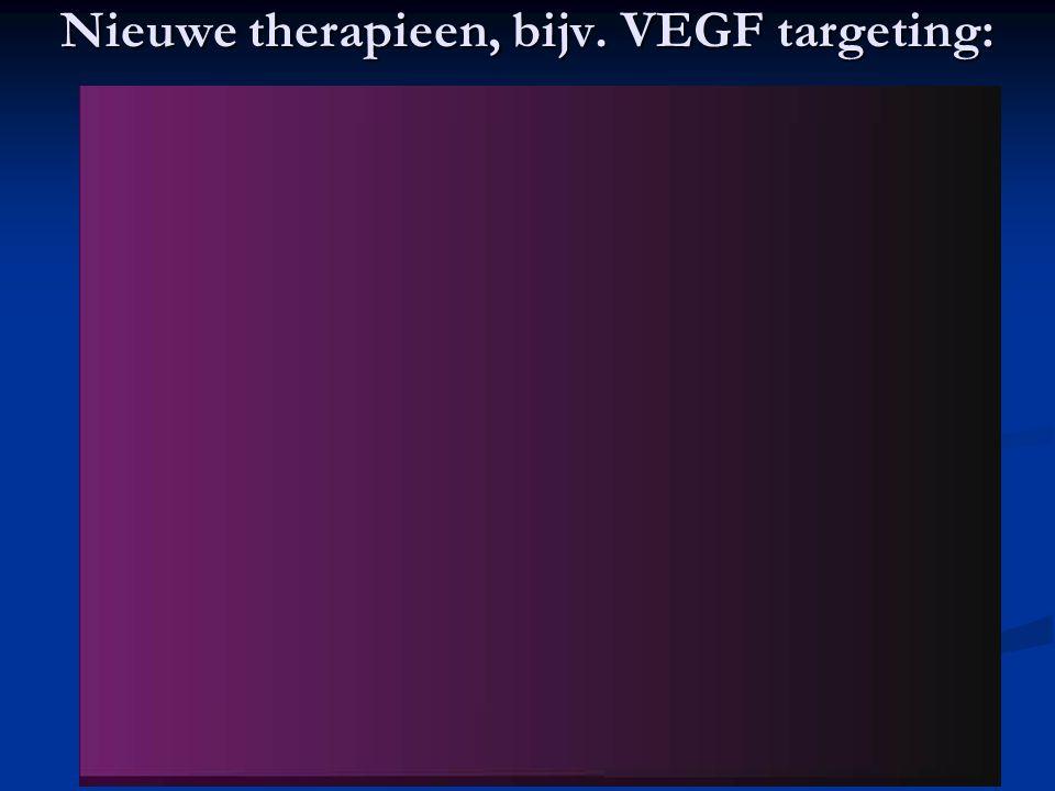 27 Nieuwe therapieen, bijv. VEGF targeting:
