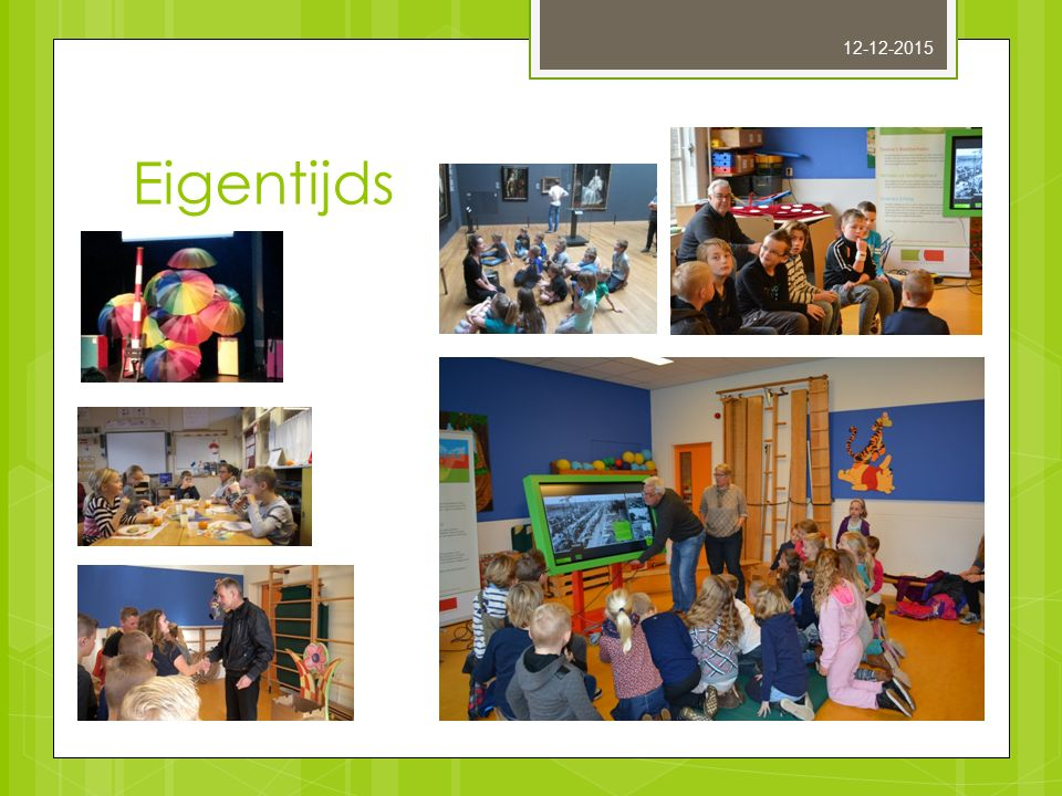 Eigentijds ouderavond De Skûle/ De Wyngert 17-11-2015 12-12-2015