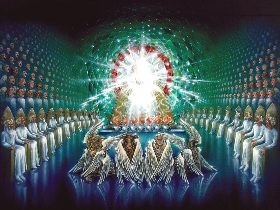 Openbaring 4:8 Heilig = anders, van een andere categorie Heel de schepping zal weer blij zijn met God als God omdat God God is komt de wereld tot een goed einde