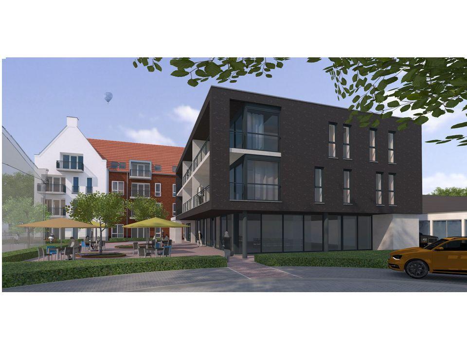 Voorzieningen algemeen -Ontmoetingsruimte met WIFI (koffie, kleine kaart, activiteiten) -3 huiskamers voor cliënten met geheugenproblematiek -Buitentuin -Parkeerplaatsen