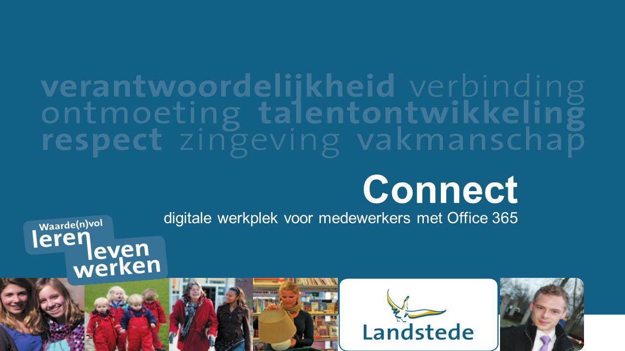 Connect digitale werkplek voor medewerkers met Office 365