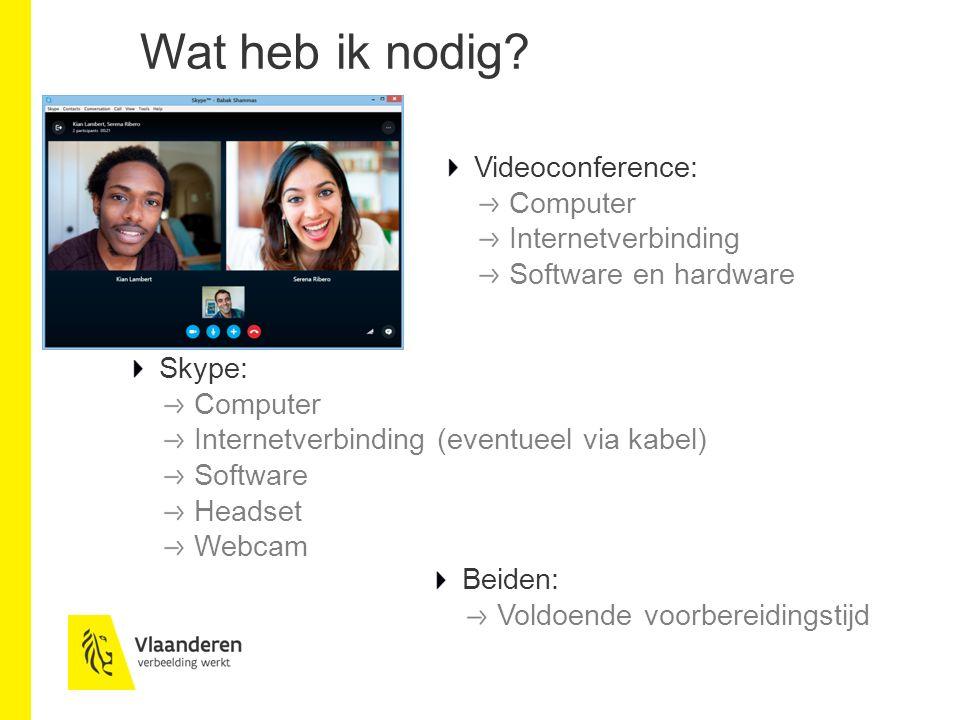 Skype: let's go!