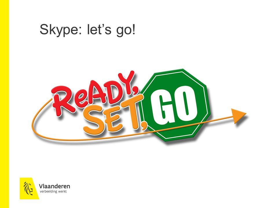Nog enkele tips Snelle en korte business case Keuze programma Vervangt fysiek vergaderen niet Handleiding: https://support.skype.com/nl/skype/windows-desktop/