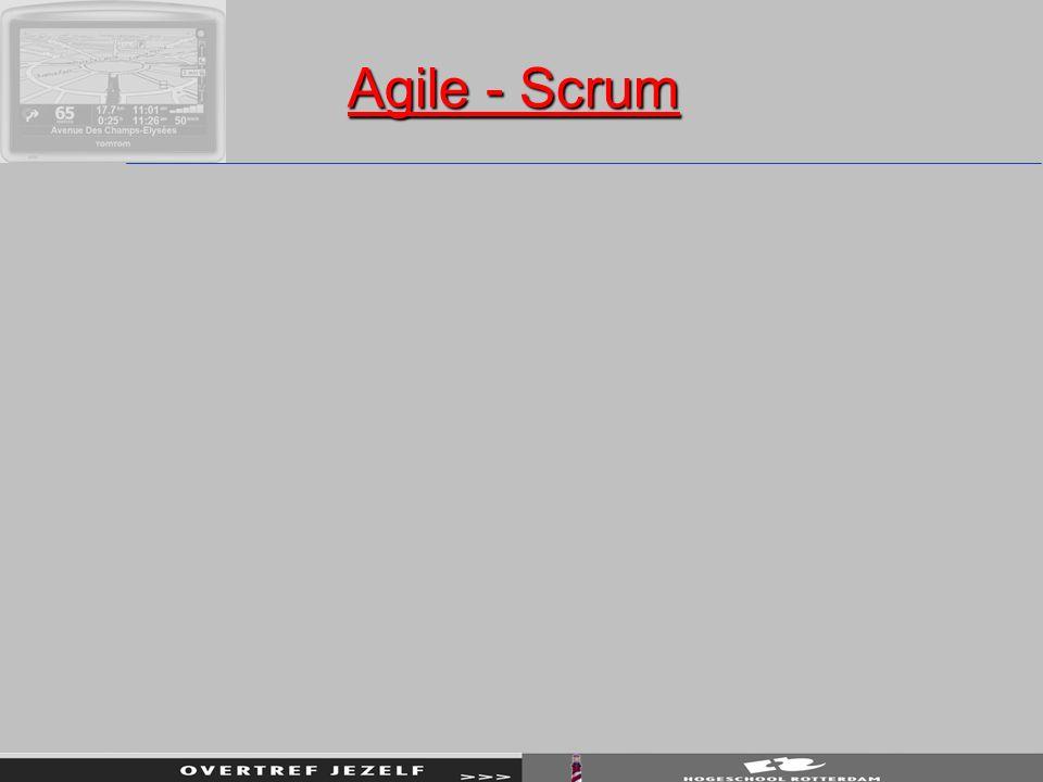 Agile - Scrum Agile - Scrum