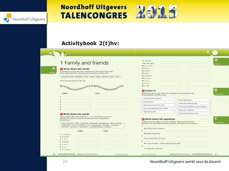 22 Activitybook 2(t)hv: