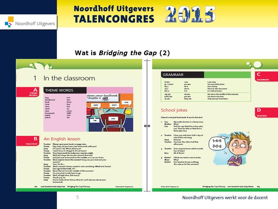 26 Vocab BtG: Even voorstellen Wat is Bridging the Gap – primary.