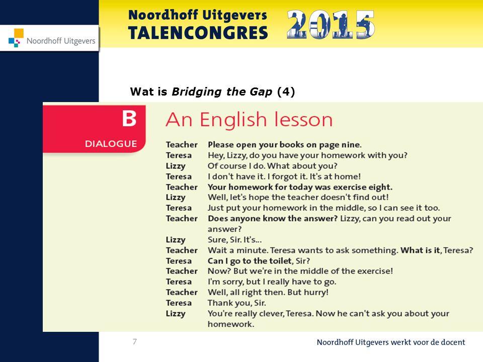 8 Wat is Bridging the Gap (5)