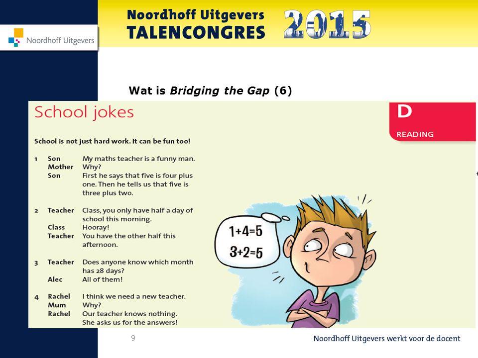 10 Wat is Bridging the Gap (7)