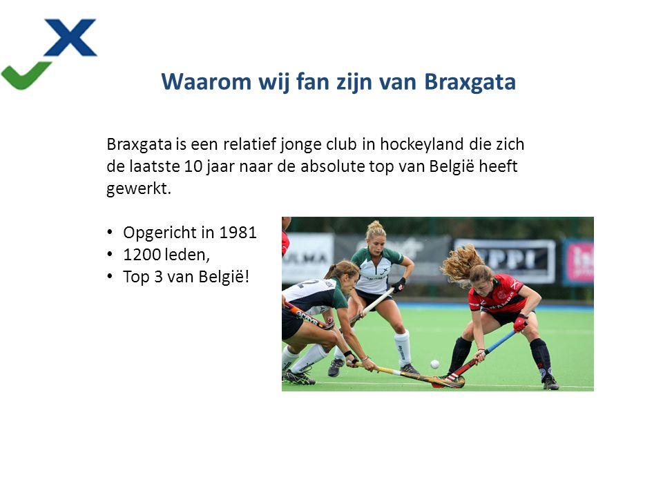 More than hockey Braxgata is een relatief jonge club in hockeyland die zich de laatste 10 jaar naar de absolute top van België heeft gewerkt. Opgerich