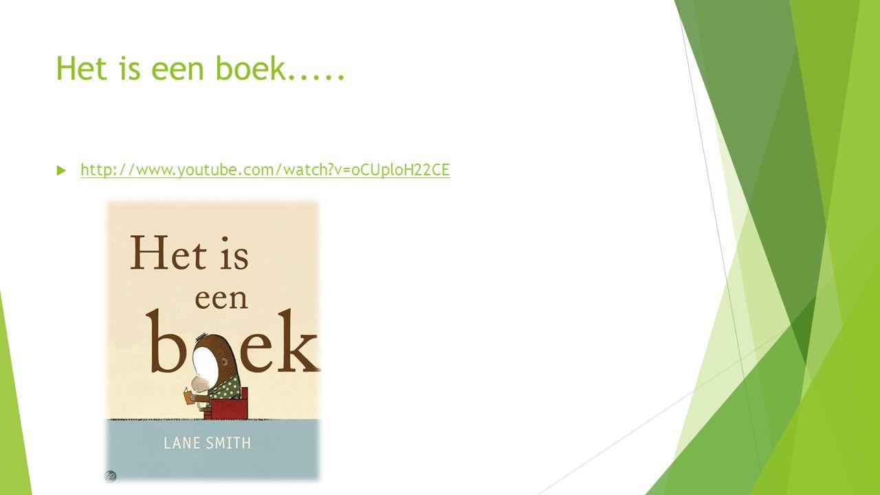 Het is een boek.....